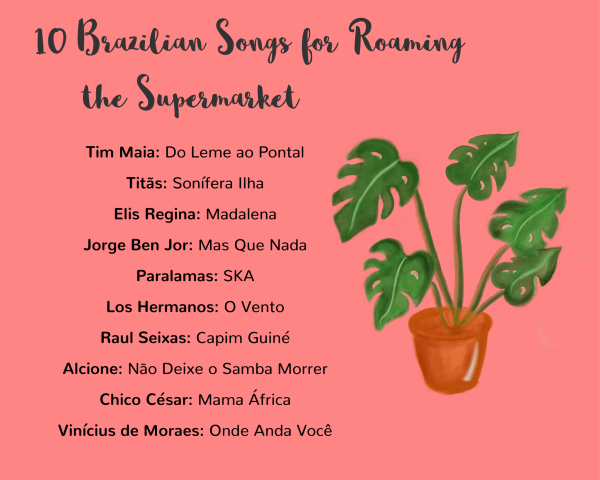 Brazilian songs for the supermarket