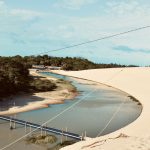 Cumbuco sand dunes and tidal river