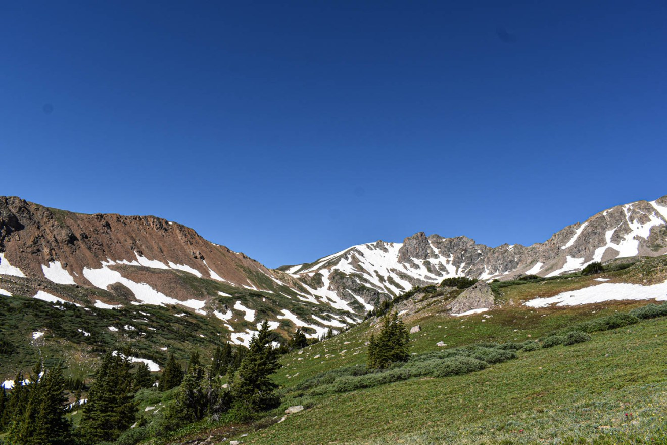 Colorado Road Trip stop at Hermon's Gulch by state road 70.