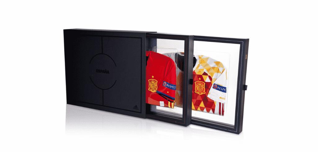Adidas EspagneMaillot Espagne Domicile Replica UEFA EURO
