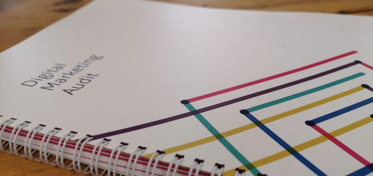 the Footprint Digital Marketing Audit in Print