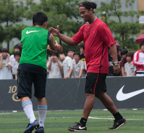 Ronaldinho overweight