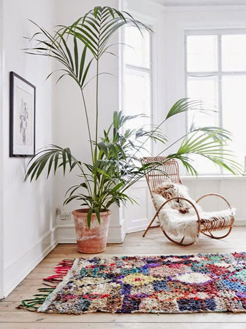 ou trouver un tapis berbere pour une