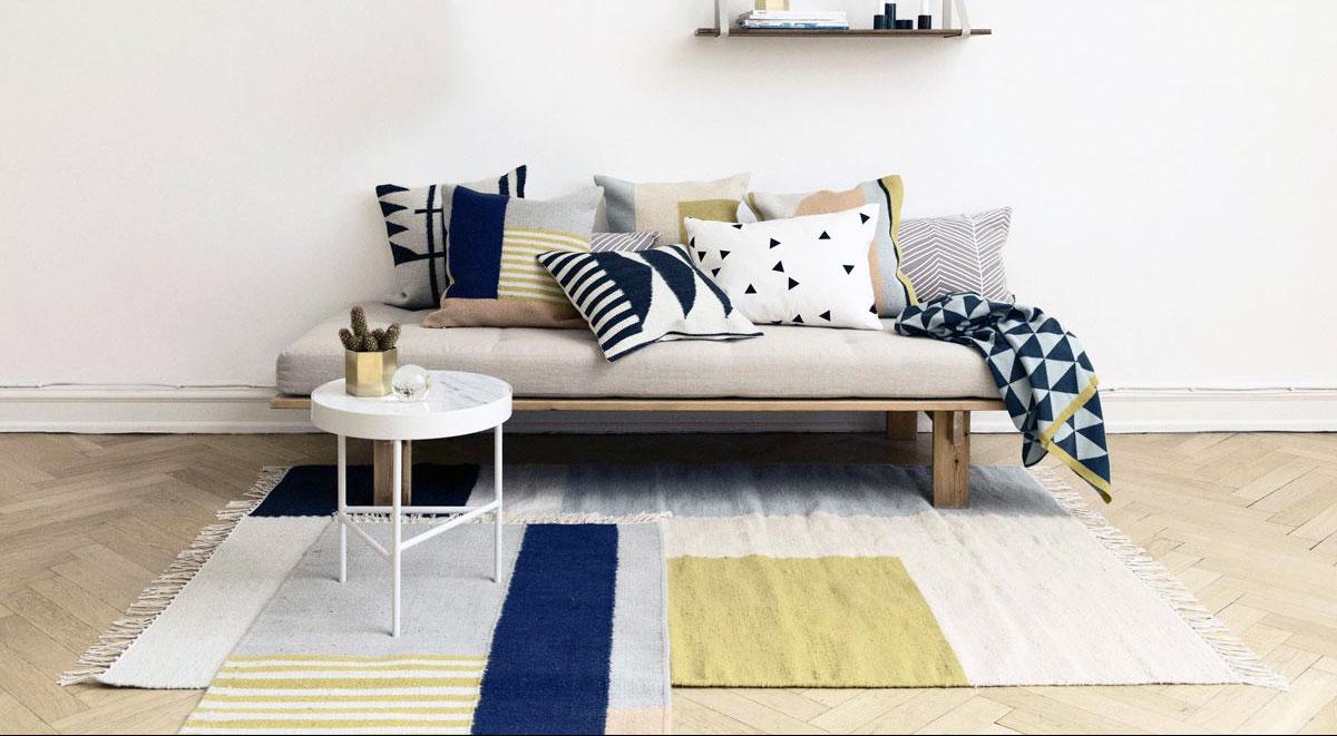 tapis scandinave quel modele pour dynamiser la deco de votre salon