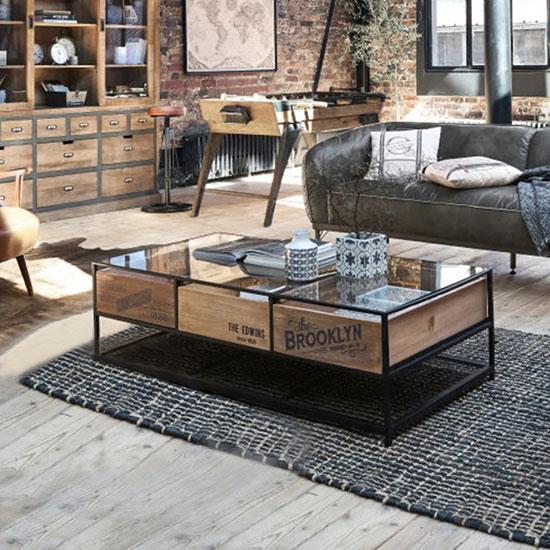 table basse industrielle 8 modeles