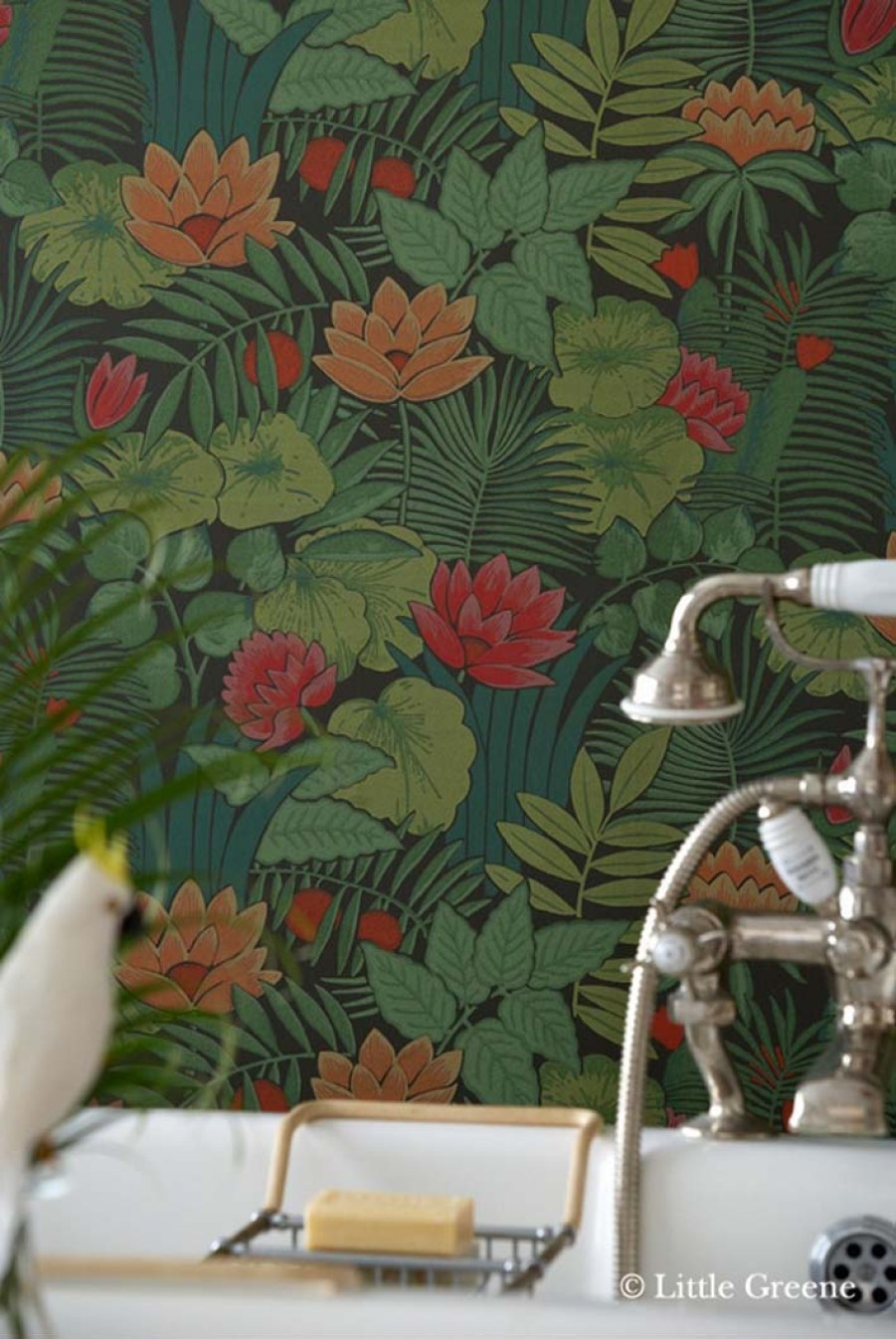 Papier peint little greene