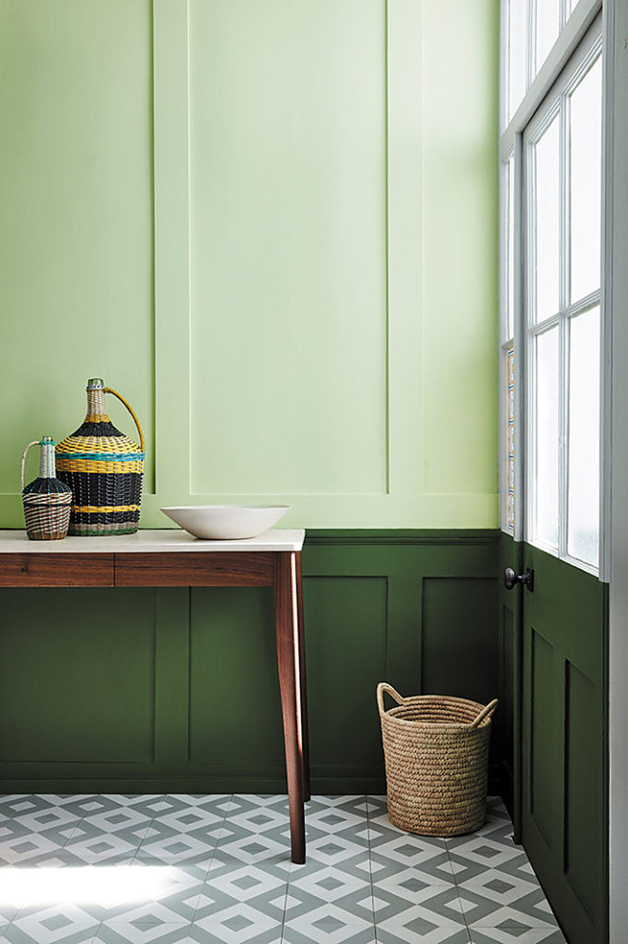 NUANCIER VERT LITTLE GREENE
