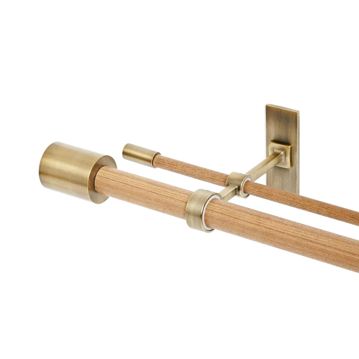 double curtain poles for sale in uk