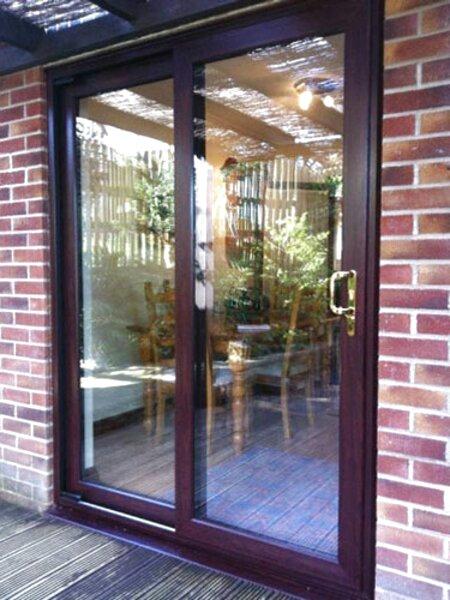 second hand sliding patio doors in