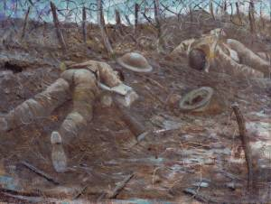 CRW Nevinson's 'Paths of Glory' 1917