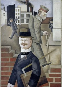 George Grosz, Grey Day, 1921, copyright the Estate of George Grosz, Princeton, New Jersey, USA