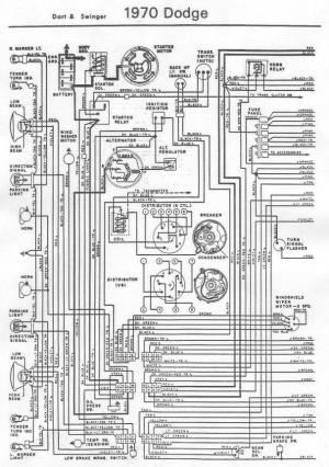70 Dart wiring diagram   For A Bodies Only Mopar Forum