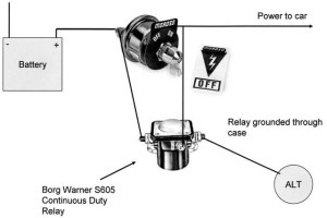 Trunk Mount Battery Kill Switch Diagram | For A Bodies Only Mopar Forum