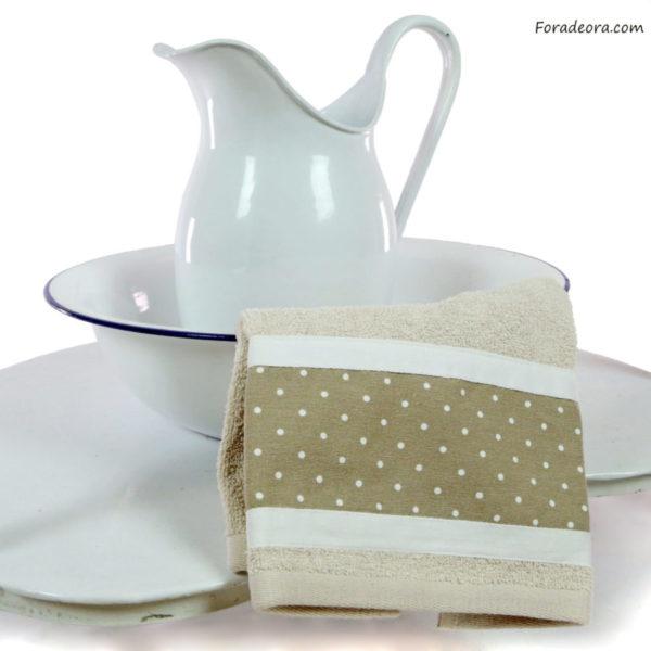 asciugamano beige