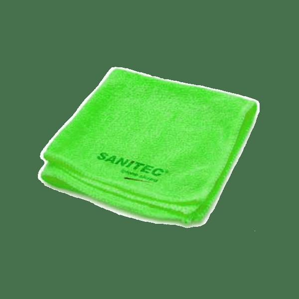 panni microfibra verdi
