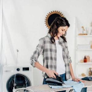 Lavatrice e stiro