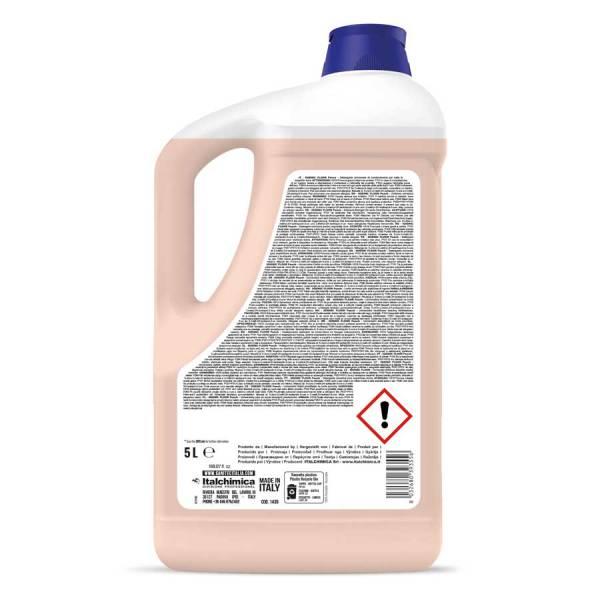 detergente per pavimenti universale anche per robottini lavapavimenti profumato alla pesca e gelsomino in tanica da 5 lt igienic floor codice 1439