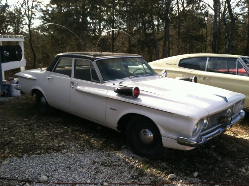 1962 Plymouth Savoy Police Pursuit Vehicle Supposebly