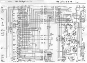 1968 charger wiring diagram | For B Bodies Only Classic
