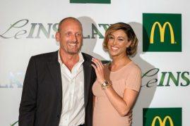 La showgirl Belen Rodriguez e Marco Ferrero