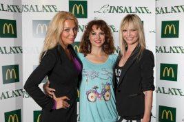 Giulia Montanarini, Miriana Trevisan e Barbara Snellenburg