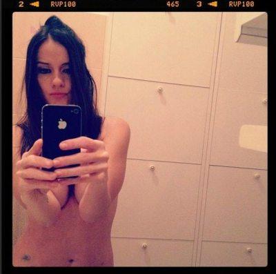Chiara Iezzi in topless | © Instagram