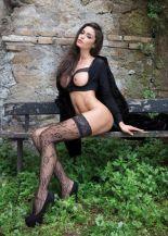 Raffaella Fico posa per il nuovo calendario | © For Men