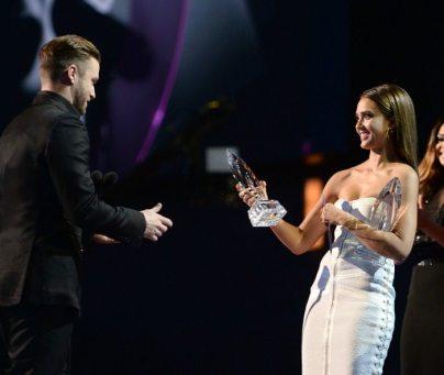 Justin Timberlake e Jessica Alba | © Getty Images