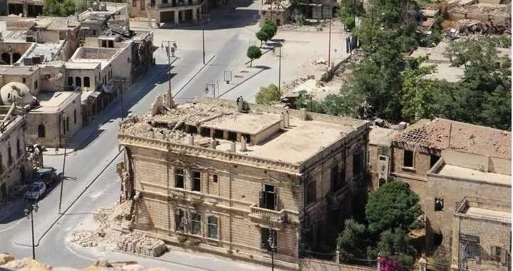 City of Aleppo in Syria