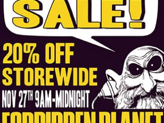 Black Friday 2015 deals Forbidden Planet NYC