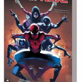 Spider-Verse alternate universe many Spider-Man incarnations