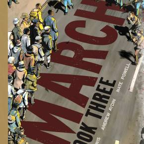 Rep. John Lewis graphic novel March Civil Rights