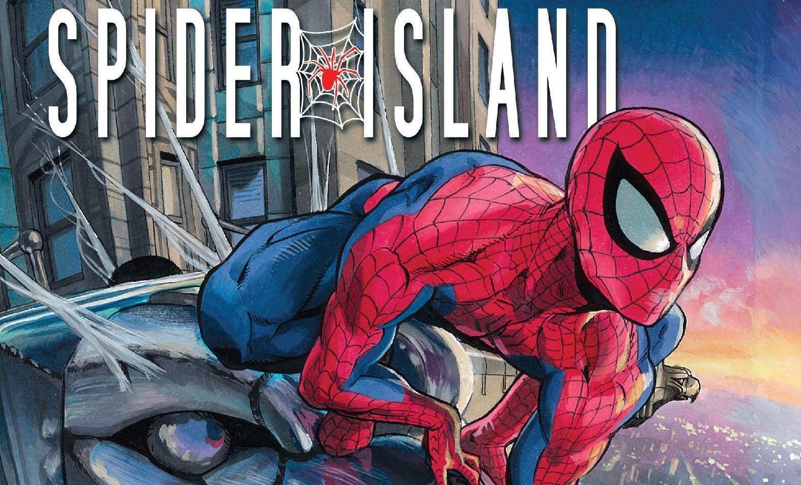 Dan Slott Spider-Island Humberto Ramos
