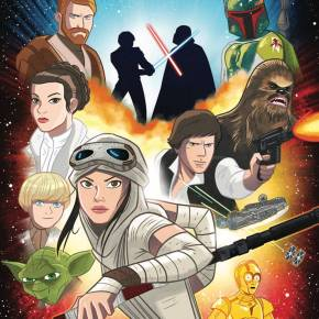 IDW Star Wars Adventures all ages comic book