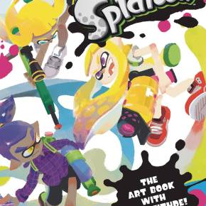 Nintendo USA Art of Splatoon video game book Dark Horse comics