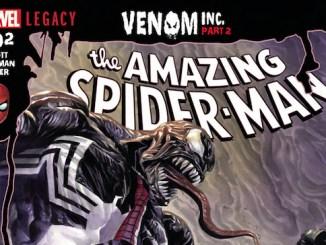 Amazing Spider-Man Venom Inc. Marvel Comics