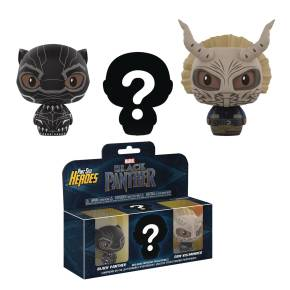Pint-sized heroes Black Panther 3pks 3 pack Black Panther NYC FPNYC toy store