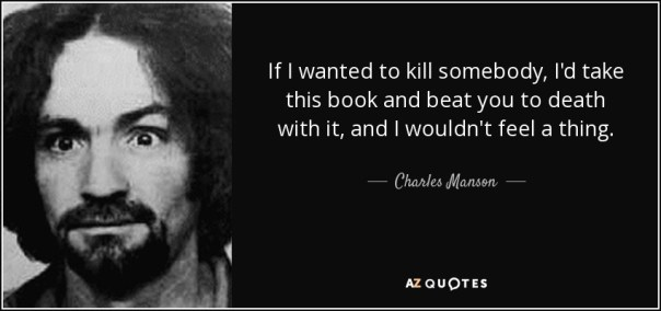 Manson Beat You To Death