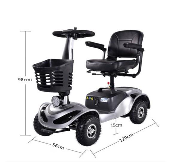 TBY3500 - Forca MobilityScooter Mobilitätsfahrzeug Sensiorenfahrzeug Seniorenmobil