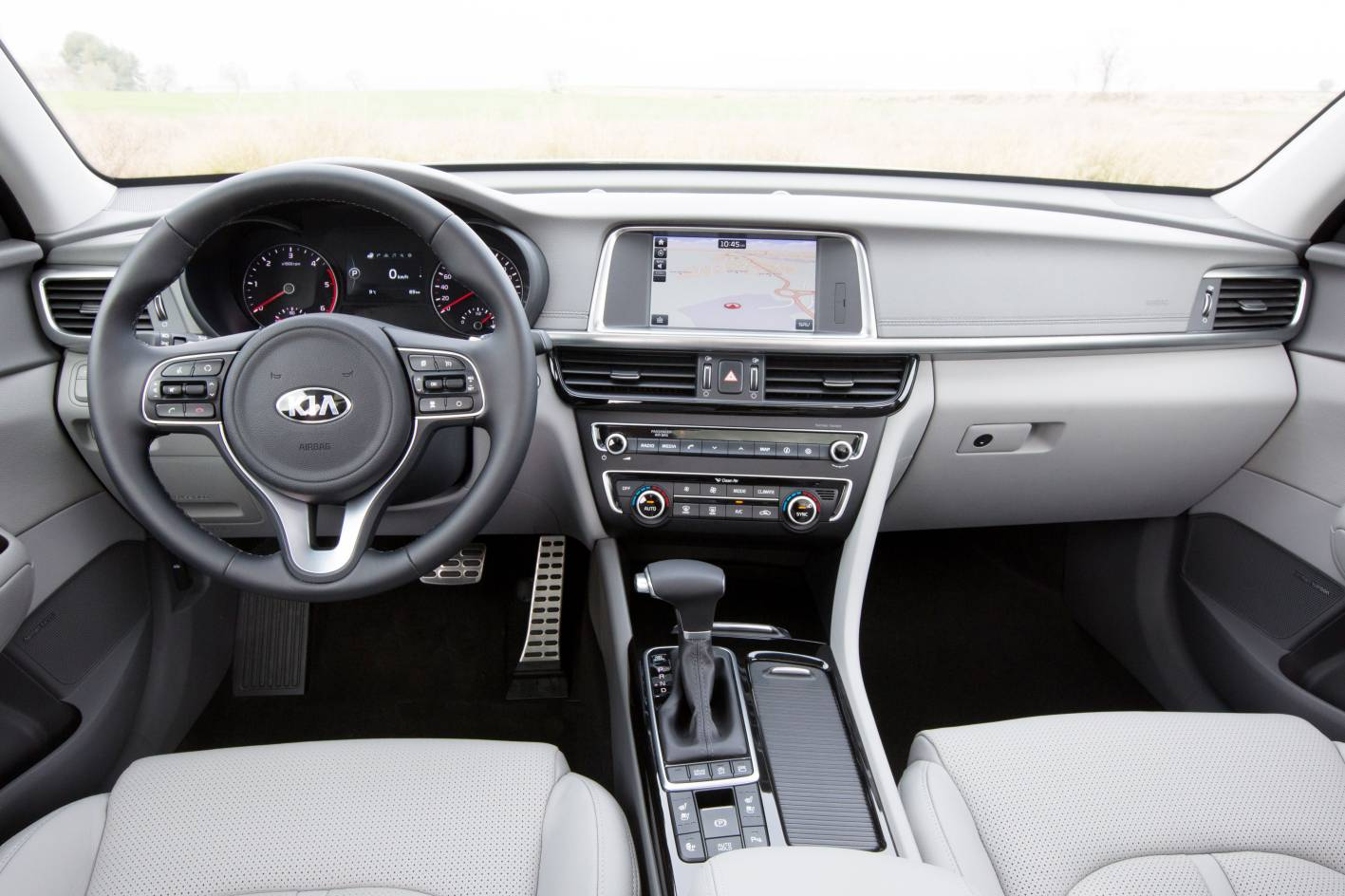 Kia Optima 2017 Interior