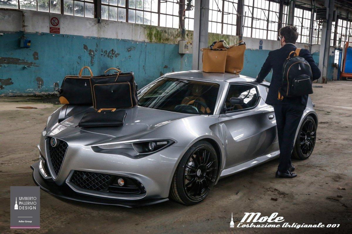 Mole Turns Alfa Romeo 4C Into One Off Supercar