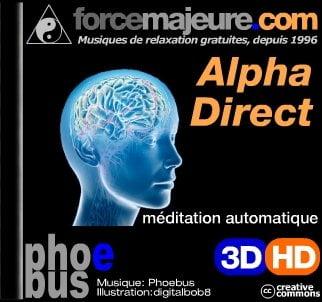 Alpha Direct ondes alpha pour étudier