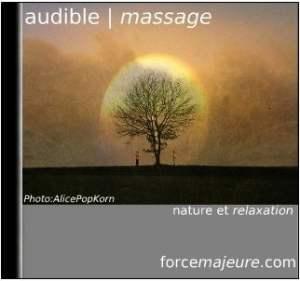 Audible massage