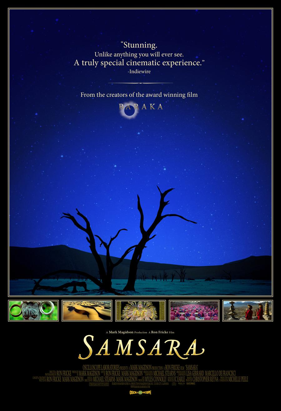 film samsara documentaire américain