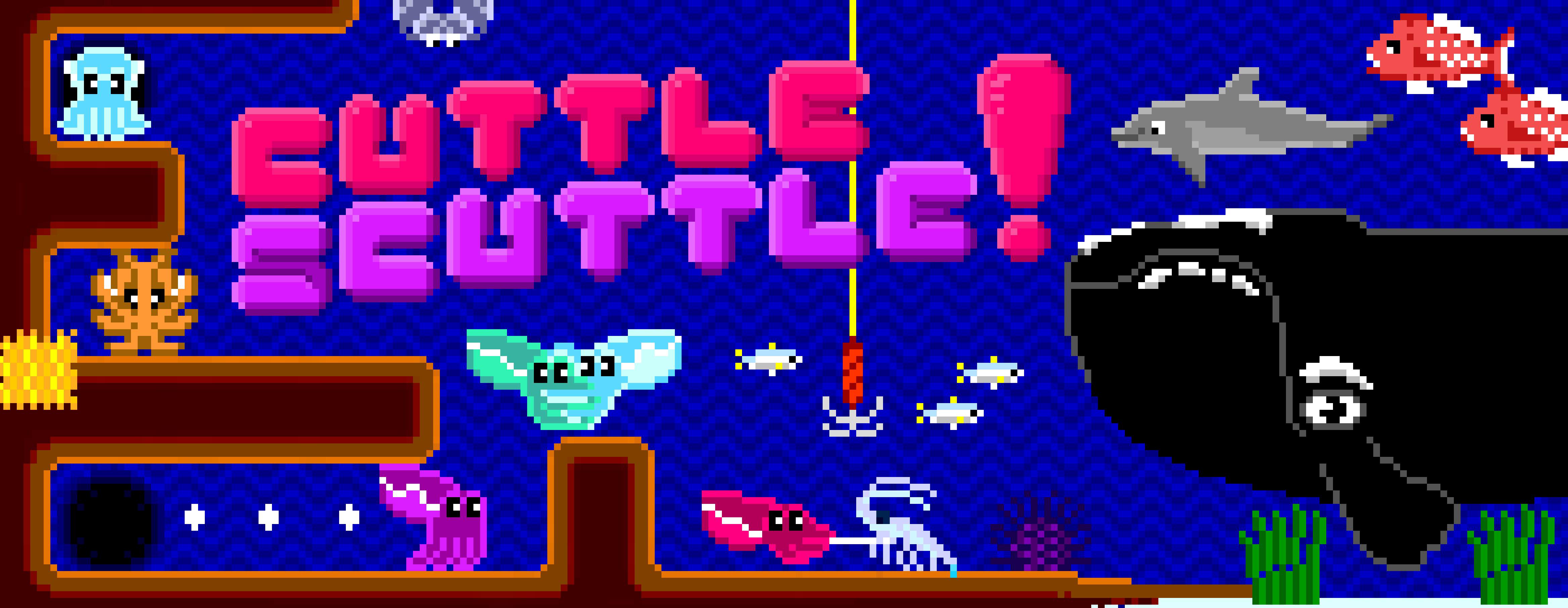 Cuttle Scuttle banner art