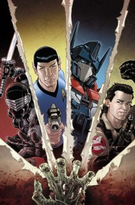 What Do You Get When You Mix Venkman, Optimus Prime, Spock and Snake Eyes?  INFESTATION!