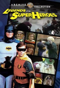 DVD LOUNGE – LEGENDS OF THE SUPERHEROES (dvd review)