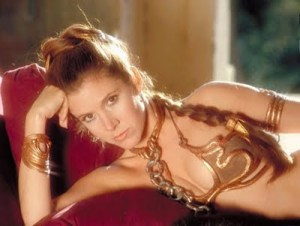 AN EXAMPLE OF WHY SOME PEOPLE SHOULD NOT DRESS UP As Slave Leia