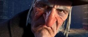 Jim Carrey: SCROOGE, Not Stooge