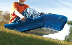 AND YET ANOTHER WAY FOR CHILDREN TO KILL THEMSELVES: Introducing the Year-Round Sled